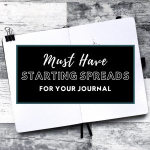 Must Have Spreads To Include In The Front Pages Of Your Bullet Journal